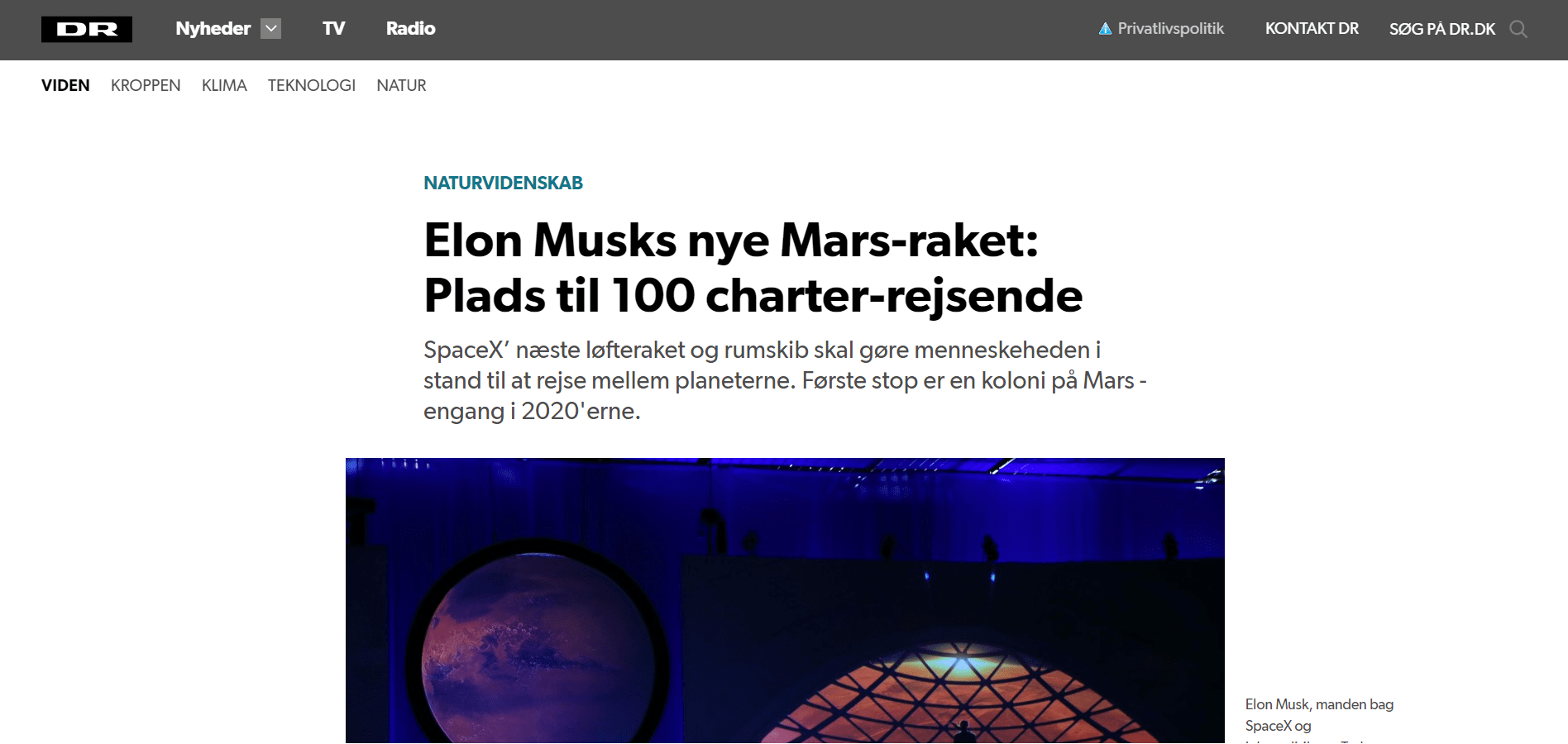 Norge og Sverige starter rumkapløb over polarcirklen _ Teknologi _ DR - Google Chrome 21_03_2019 12.13.09