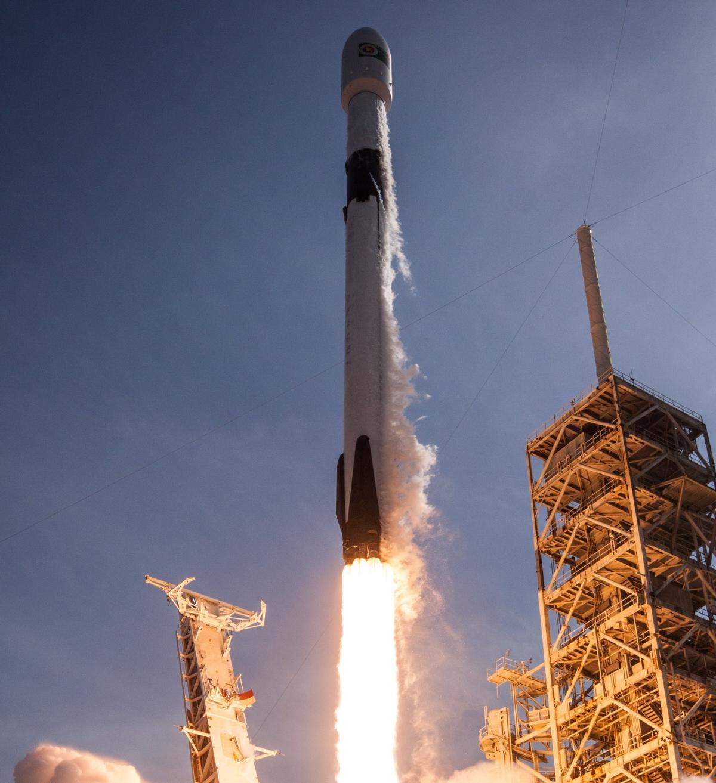 RAKETAFFYRING: Forsyninger sendes op til rumstationen klokken09:11