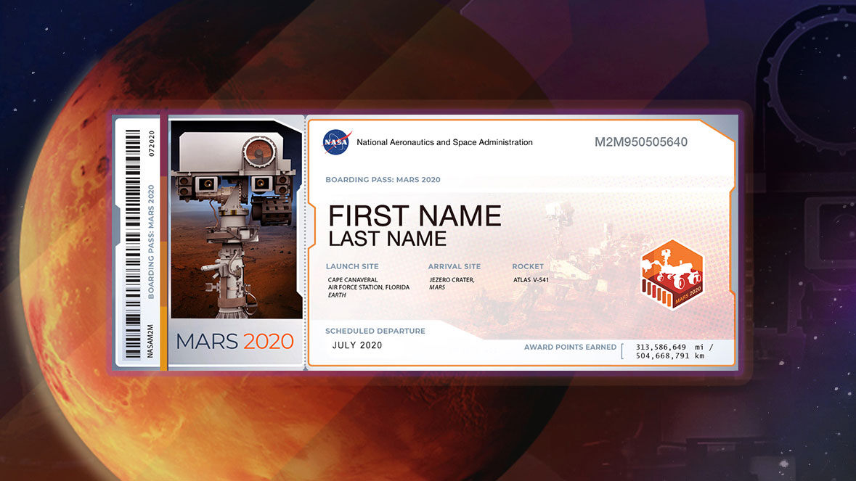 Send dit navn til Mars med NASAs næsterobot