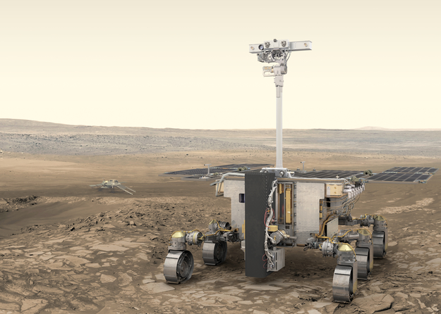 European rover has better chance of discovering life than NASAs Mars 2020, says ESA project scientist