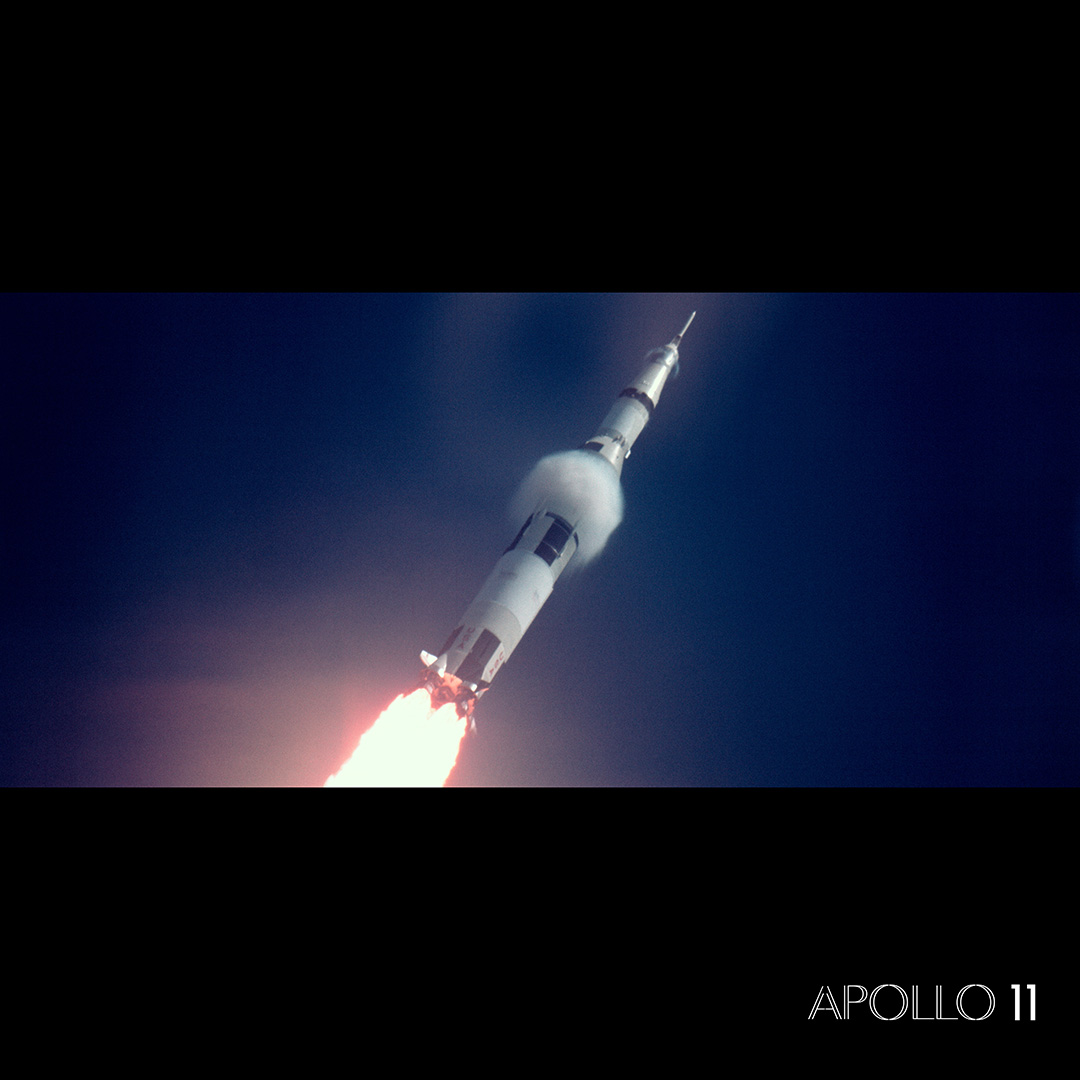 Flying with giants: Review of Apollo 11
