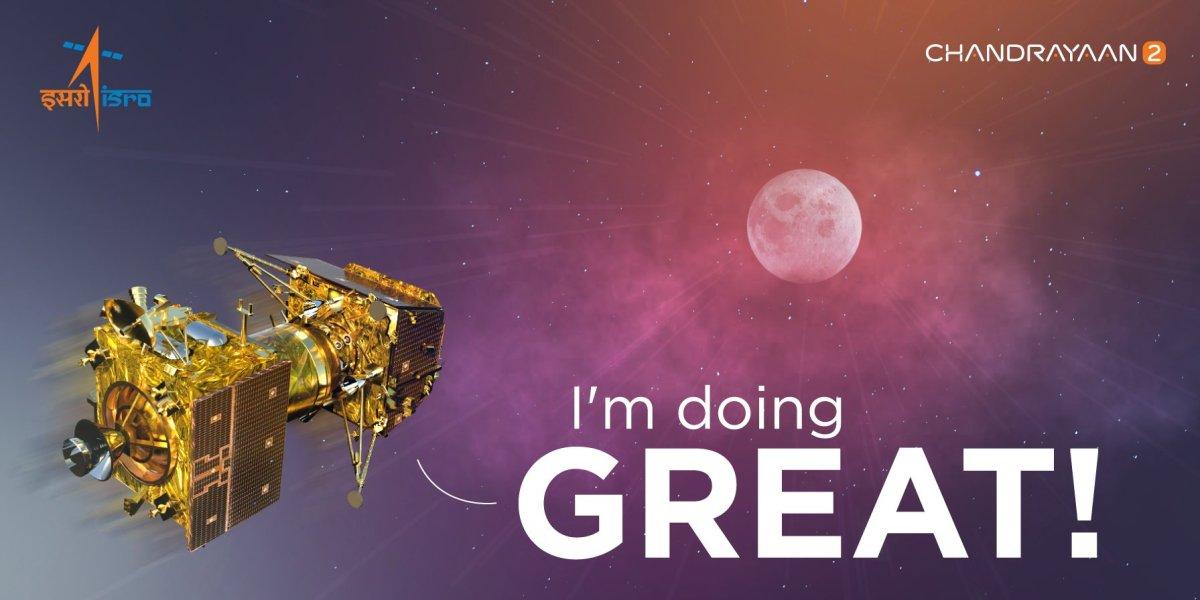 Indian Lunar Lander enters Orbit around theMoon